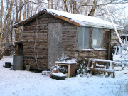 Shed of County Clare Ecohouse, Irlando