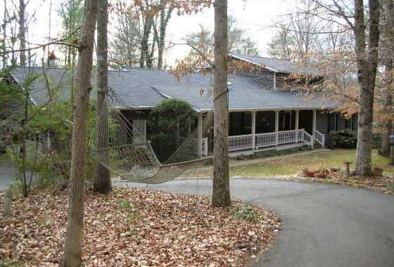 Pretty home just north of Asheville in the charming town of .Weaverville NC