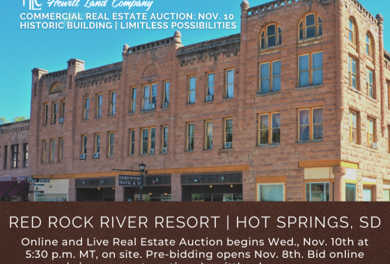 Red Rock River Resort Auction